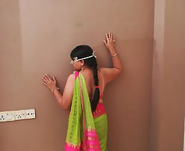 Indian Bhabhi Performing A Strip Show In Front Of Her Hubby