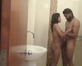 Indian Couple Loving Having Sex While In Shower