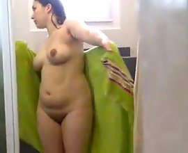 Hot Indian Punjabi Wife Naked In Shower