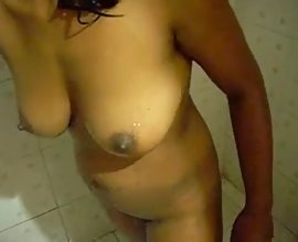 Indian Men Filming Her Naked Wife In Shower